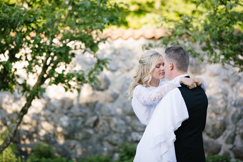 Bröllopsmässa på slottet!
