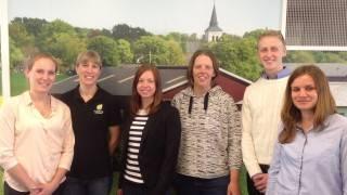 Mentorparen för Hushållningssällskapen från 2014/2015. Från vänster: Sofia Lindman, Stina Stabo, Ida Pettersson, Camilla Persson, Erik Johansson, Tellie Karlsson.
