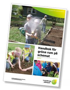 Handbok för Gröna rum på schemat