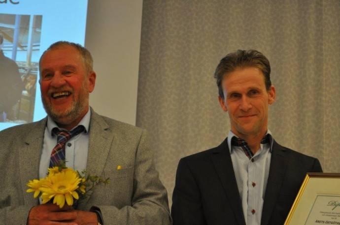 """""""Årets Östgötabonde 2015"""" Anders och Christer Eskilsson, Ekhult"""