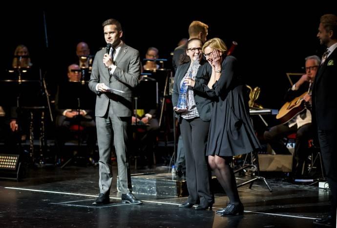 Kvalitetsmässan. Prisutdelning operan 2015 Foto: Emelie Asplund